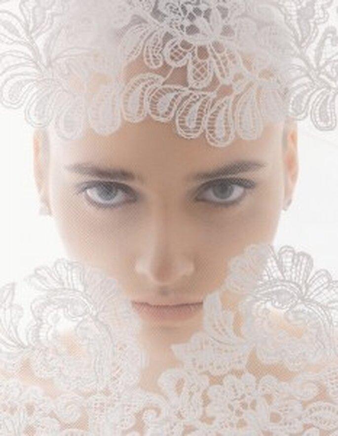 Velos de novia Aire Barcelona 2011 - modelo 105 naiara