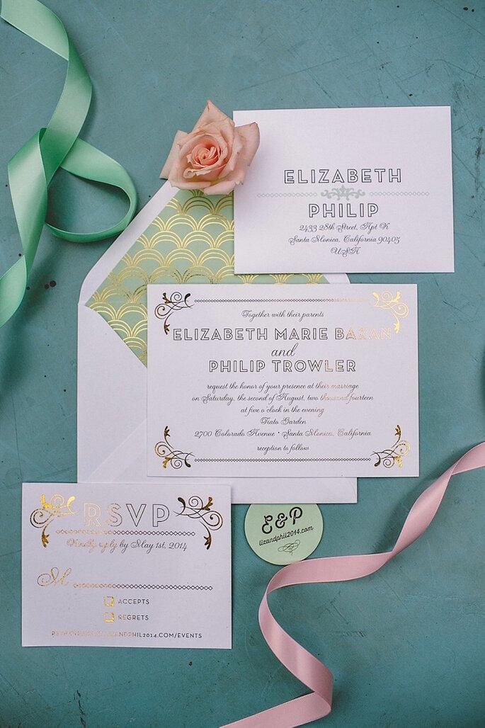 Los 9 mandamientos de las invitaciones de boda perfectas - Anna Delores
