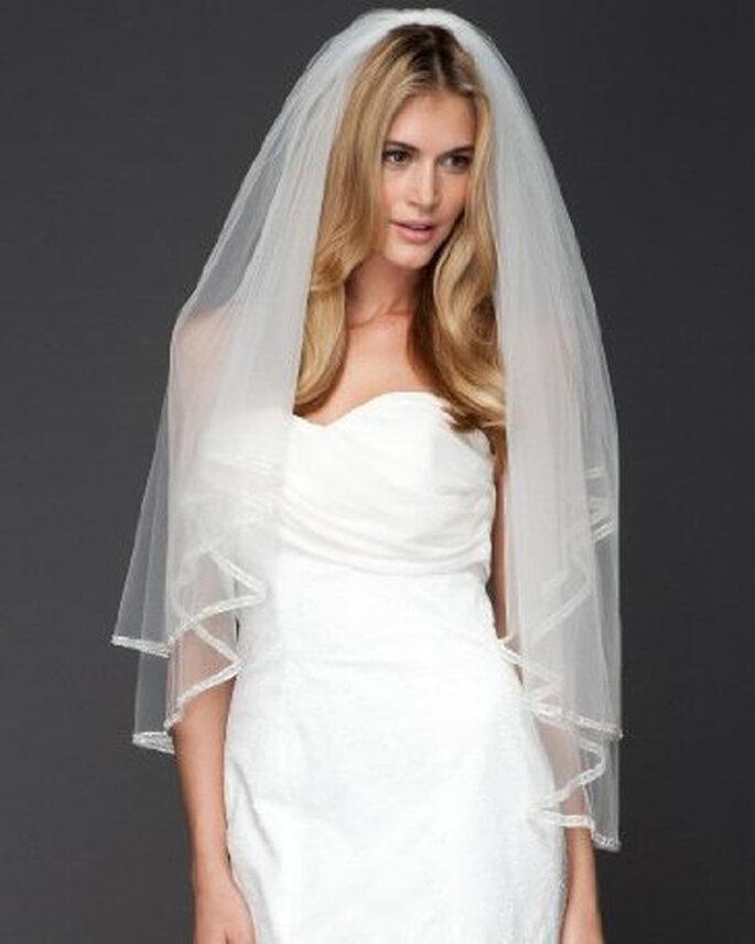 Velo de novia a los codos - Foto Bebe Bridal