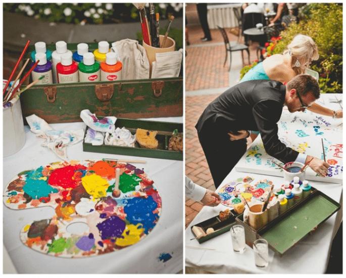 Despierta la creatividad de todos tus invitados - Foto Sweet Little Photographs