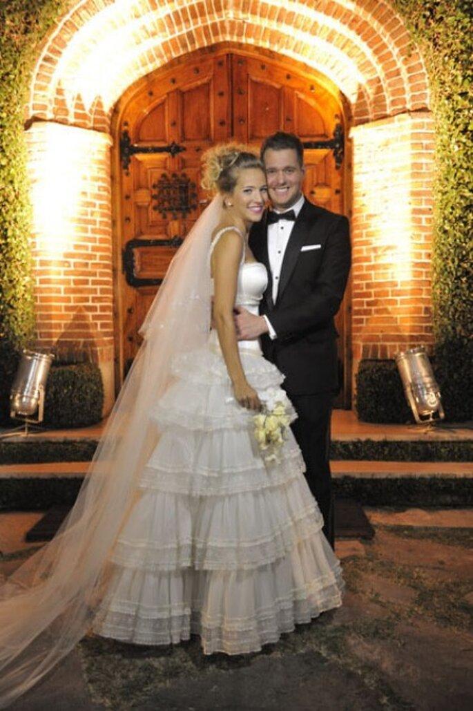 Luisana&Michael en su noche de ceremonia religiosa