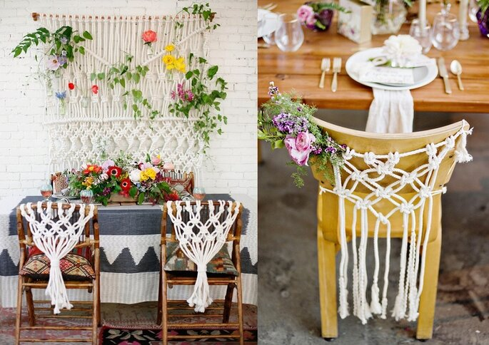 macrame weddings