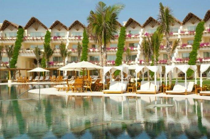 Los 5 destinos más románticos en México para tu luna de miel - Foto Gran velas Riviera Maya