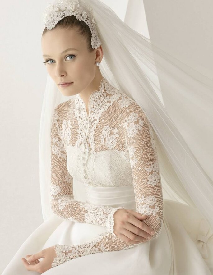 Vestido de Noiva Rosa Clará  2012 - Adorno