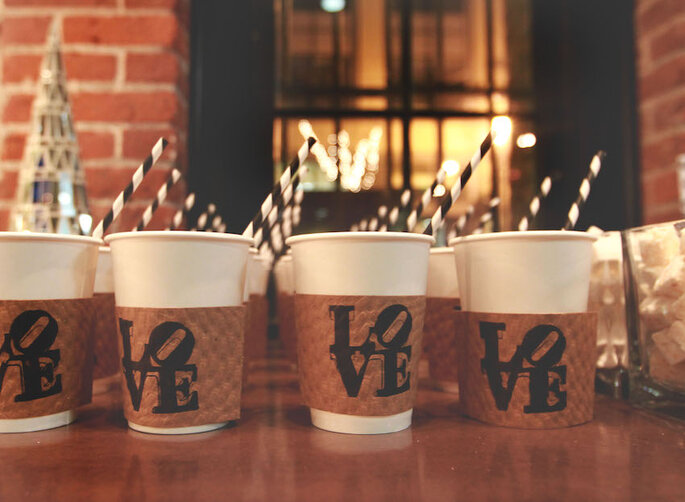 Barra de café para tu boda - Niki Rhodes