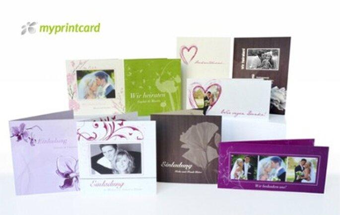 myprintcard - Beispiele für Karten