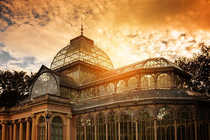 Palacio de Cristal de El Retiro. Foto: Shutterstock