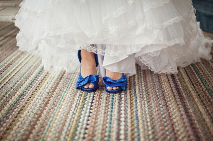 Algo viejo, prestado, nuevo y azul- Foto Rebecca Ellison