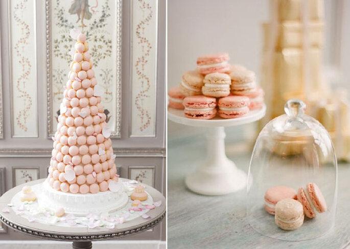 Idée à croquer : des macarons pour un mariage gourmand !