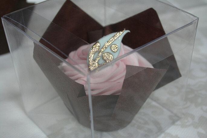 Cupcake de regalo. Foto: Victoria Watkin Jones via Victoria Made