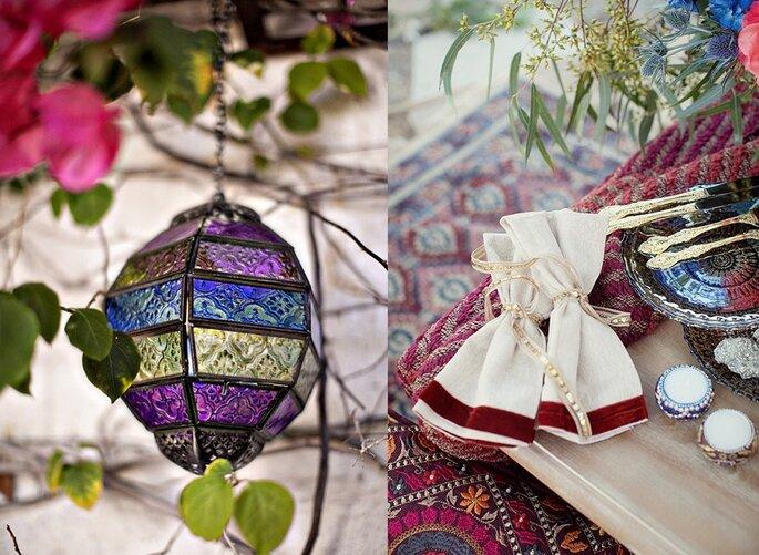 decoración boda marroquí2
