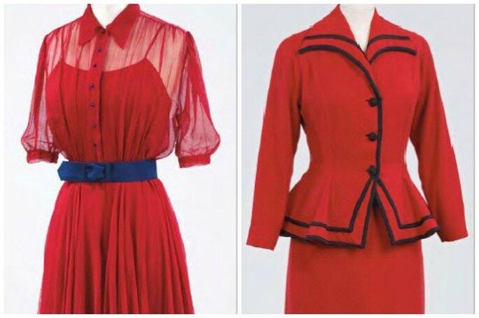 El gusto por los vestidos de novia rojos perdura hasta hoy. Foto: The Wedding Dress.