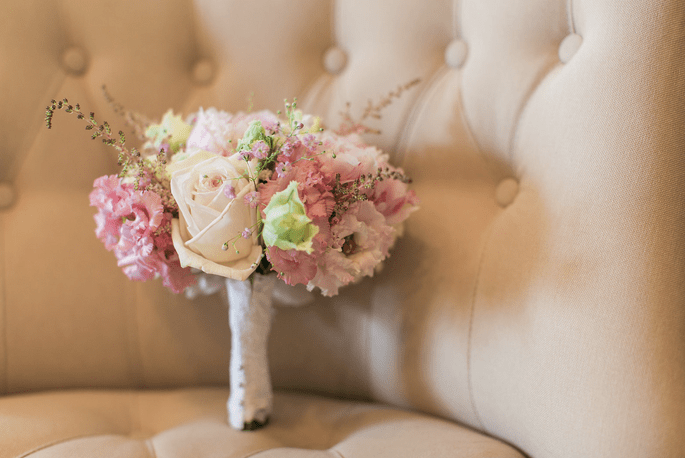 save your date - bouquet de la mari