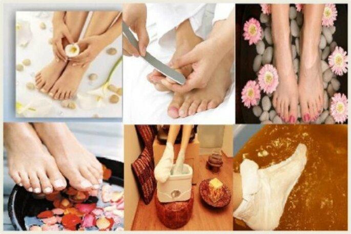 El cuidado de los pies es fundamental para el día de la boda