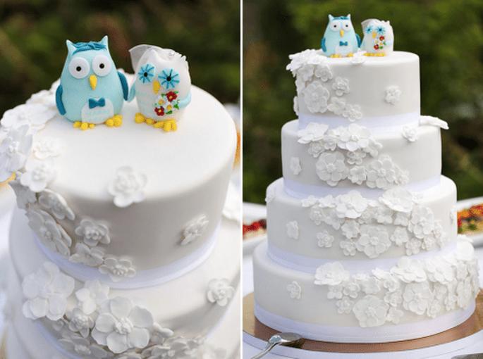 4 Tendencias en pasteles de boda 2014. Fotografìa Nancy Ebert