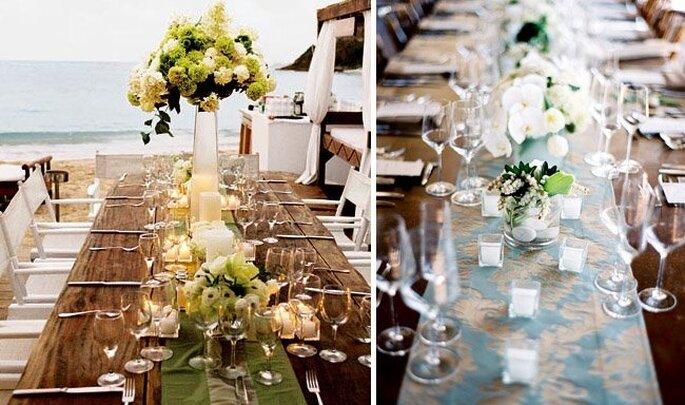 dekoracje stołów  na wesele