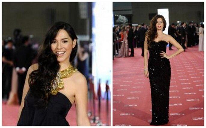 Cristina Brondo y Angie Cepeda Premios Goya 2012.