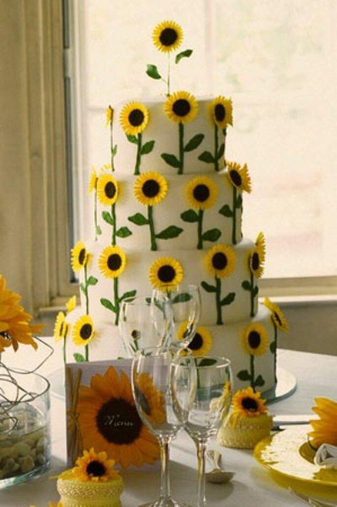 Sonnenblumen im Sommer - Foto: www.maisiefantaisie.co.uk