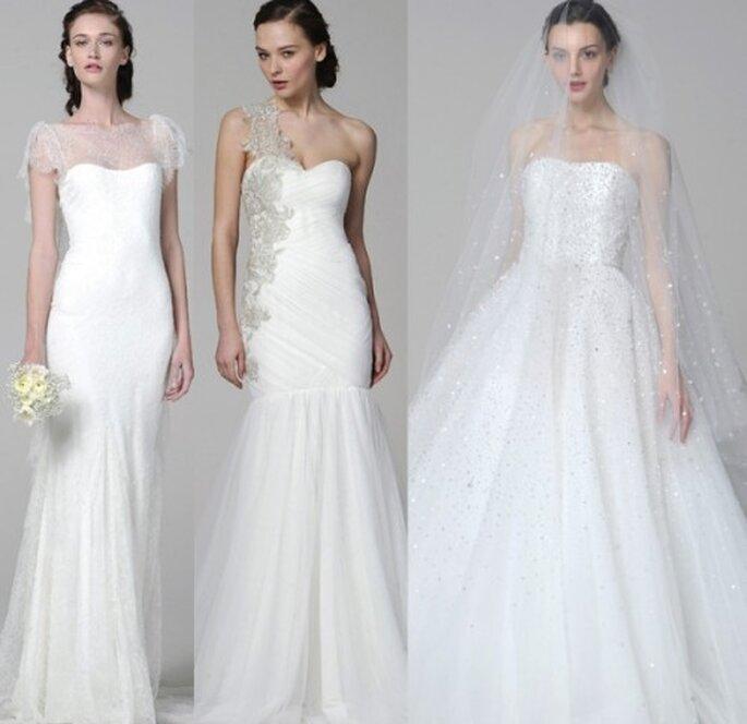 Vestidos de novia Marchesa 2013