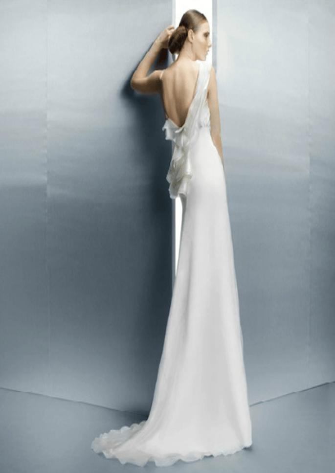 Robe de mariée dos-nu Jesús Peiró 2013