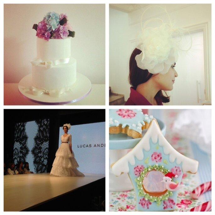Aproveite para conhecer novos fornecedores e produtos nos principais eventos para noivas Fotos: São Paulo Sugar Craft Show (Facebook) e Mariana Ortigão