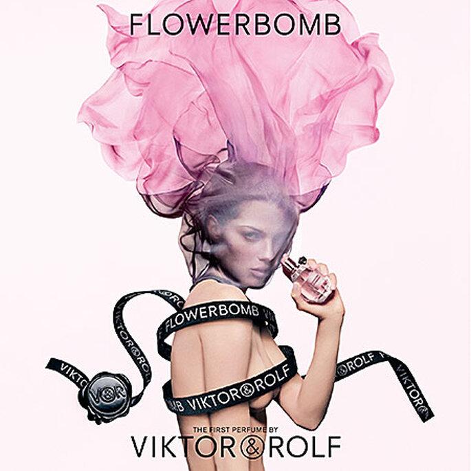 Los 12 perfumes más populares para el día de tu boda. Foto: Flowerbomb by Viktor Rolf