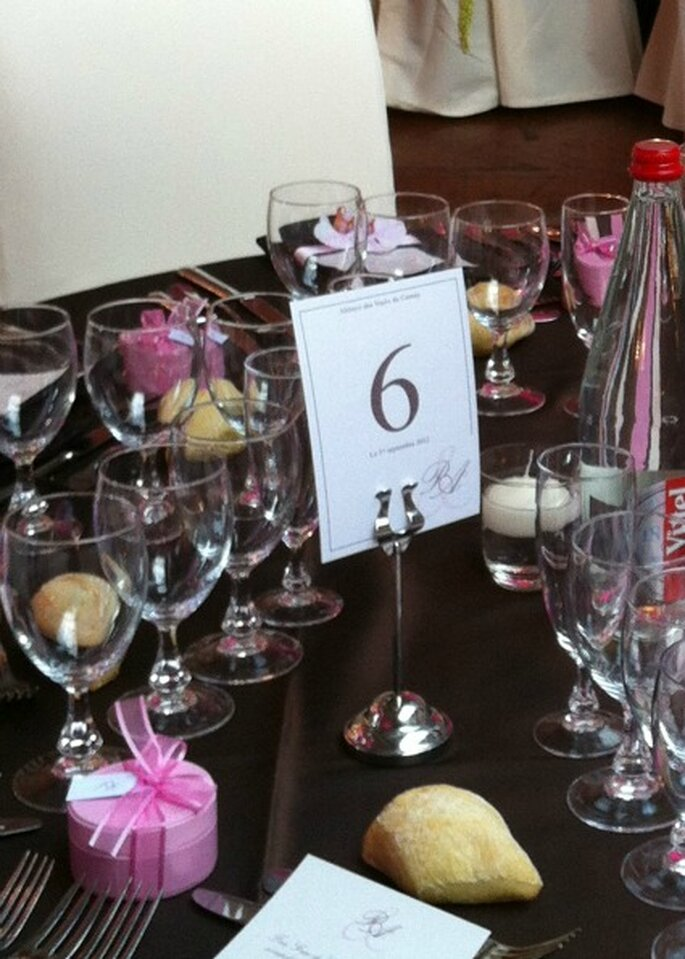 Nom des tables de votre mariage, laissez votre libre cours à votre imagination ! - Photo : Com'une Orchidée