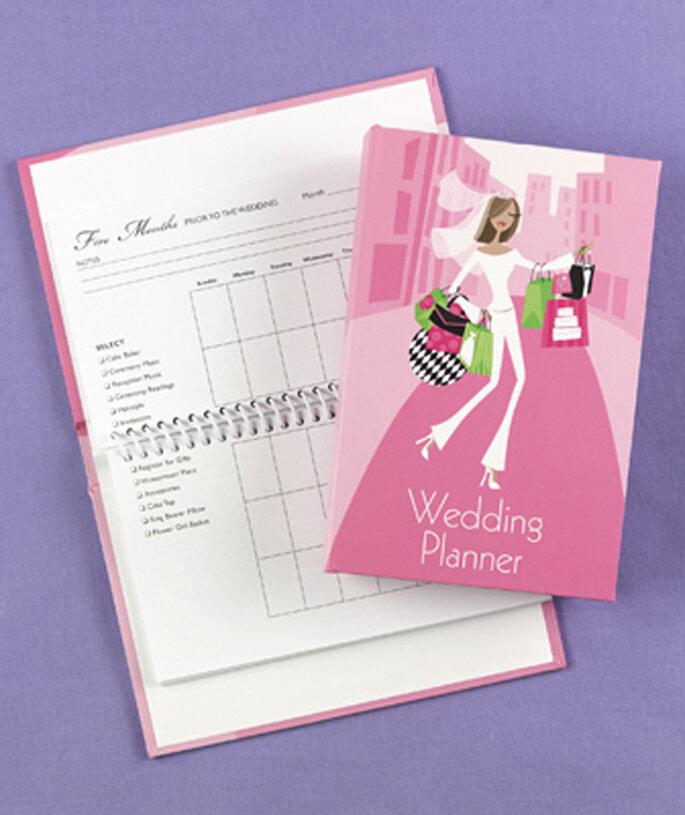 Organizate el próximo año con una agenda para planear bodas - Foto Hortense B. Hewitt Wedding