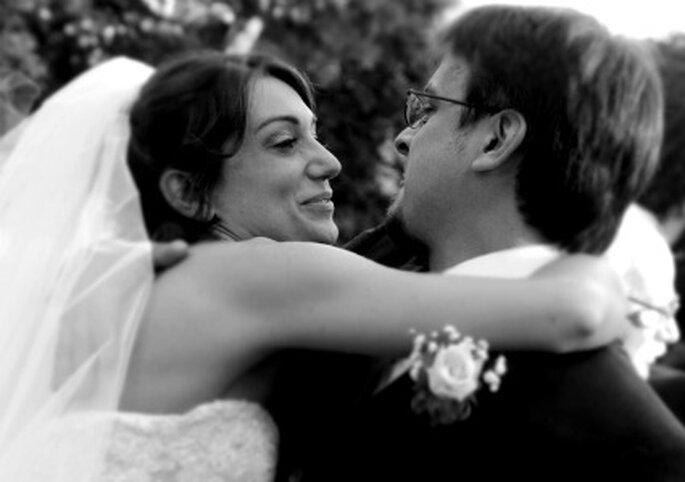 Grande complicità tra i due sposi. Foto di Cristiano Denanni Foto Grafica Torino