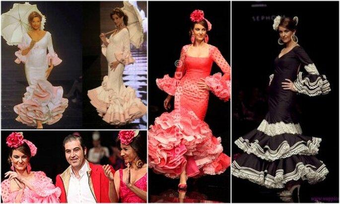 Desfiles colección Sevillania 2010 y 2011