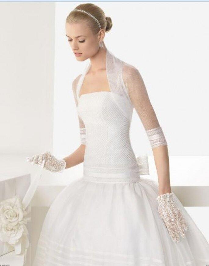 Vestidos de novia otoño- invierno. Fotos de colección Rosa Clara 2013.
