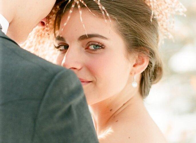Luce una piel súper sana en tu boda - Foto Jen Lynne