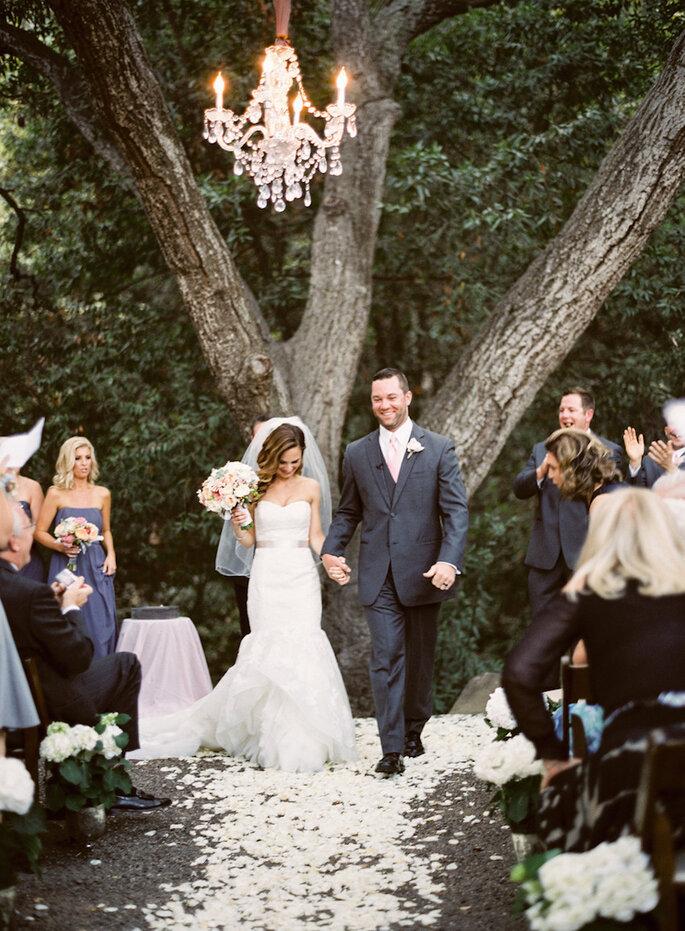 10 cosas que pasarán por tu mente en tu camino hacia el altar - Michelle Warren Photography