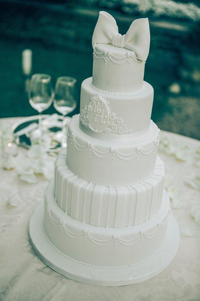 Torta Nuziale: Bella's Bakery via Wedding Planner Diana Da Ros
