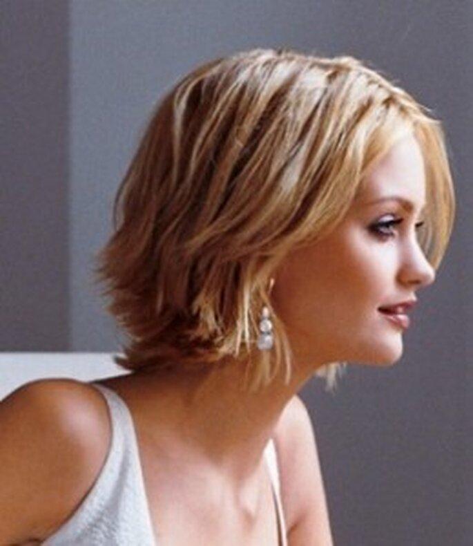 Un peinado muy desenfadado que te hará lucir bella y natural