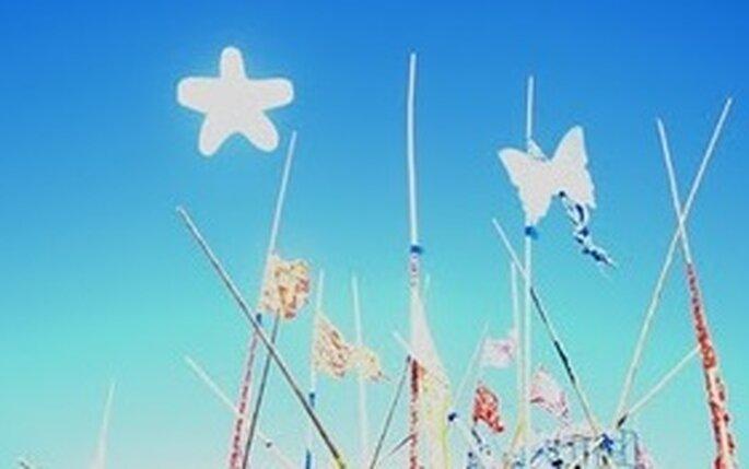 Flogos, dibuja nubes para tu boda