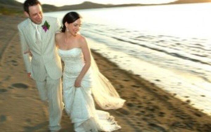 La playa, el escenario más romántico que existe