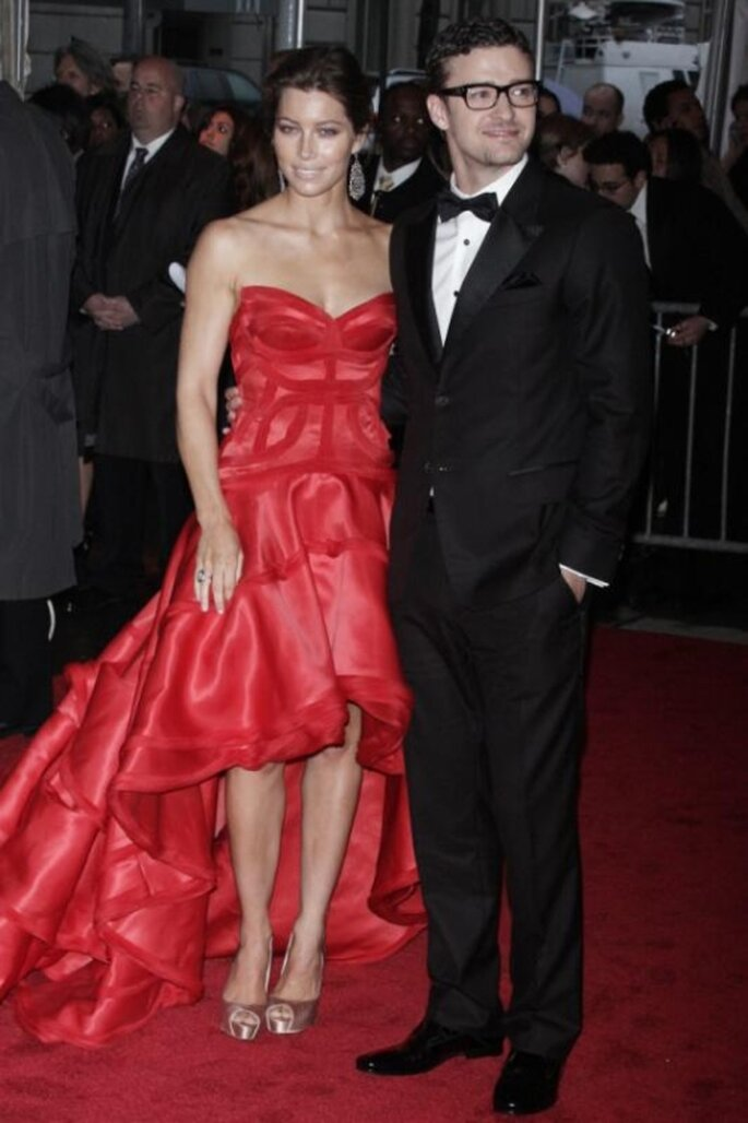 Justin Timberlake y Jessica Biel comprometidos, foto de US Magazine
