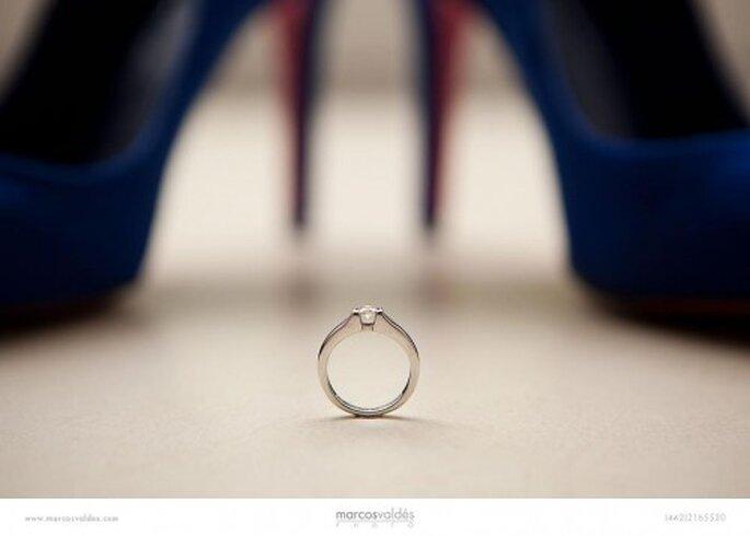 Foto de la semana: tacones de impacto y una hermosa joya de novia - Foto Marcos Valdés