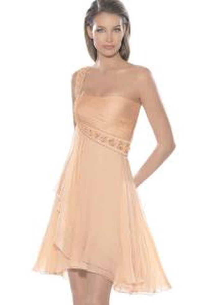 La Sposa 2009 - Robe courte, coupe empire avec une seule bretelle