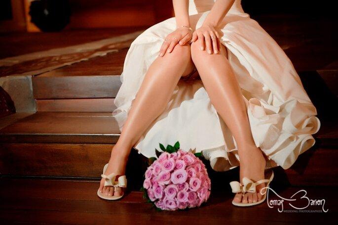 En múltiples detalles puedes dar vida a tu boda de otoño. Foto de Tomás Barrón