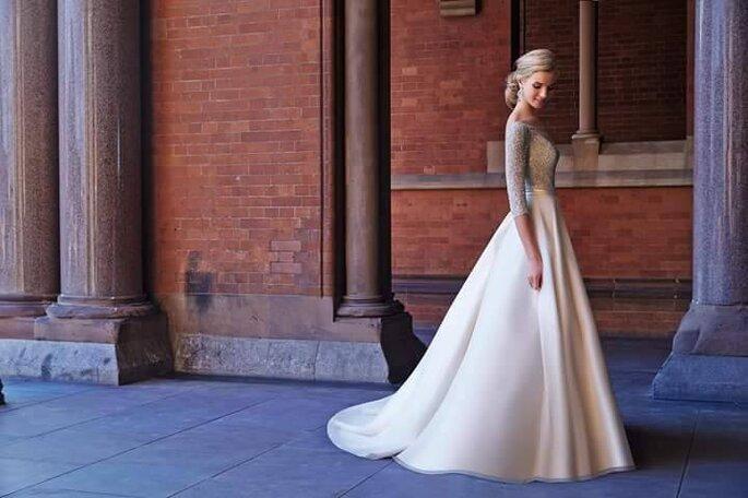 Modelo disponível em: Principessa Noivas.