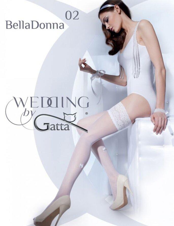 Pończochy ślubne Gatta