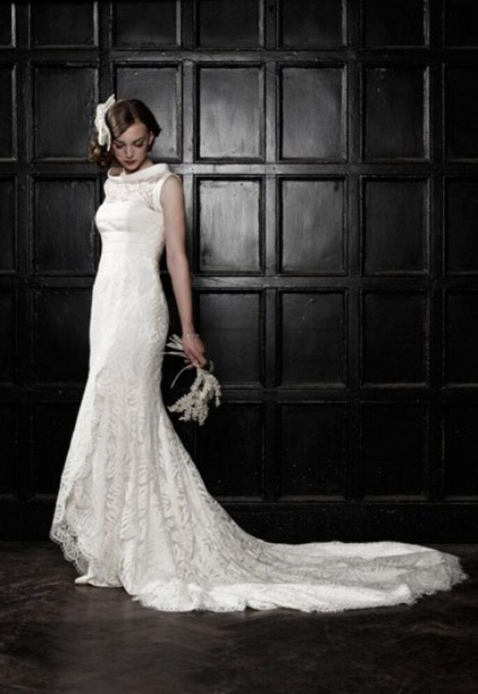 Vestido de novia de Bruce Oldfield, el diseñador de Kate Middleton