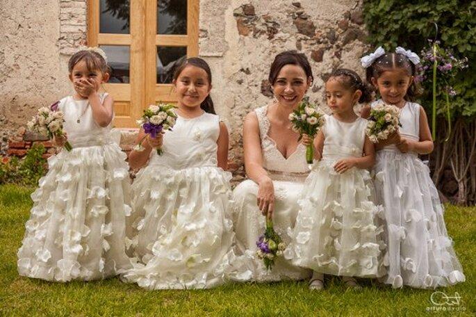 Incluye a las generaciones menores en la fotografía de tu boda - Foto Arturo Ayala
