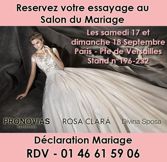 R servez votre essayage au salon du mariage porte de for Porte de versailles salon mariage