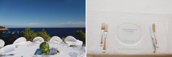 La decoración y la recepción son mínimos, aunque escenciales. Foto de Roberto y María