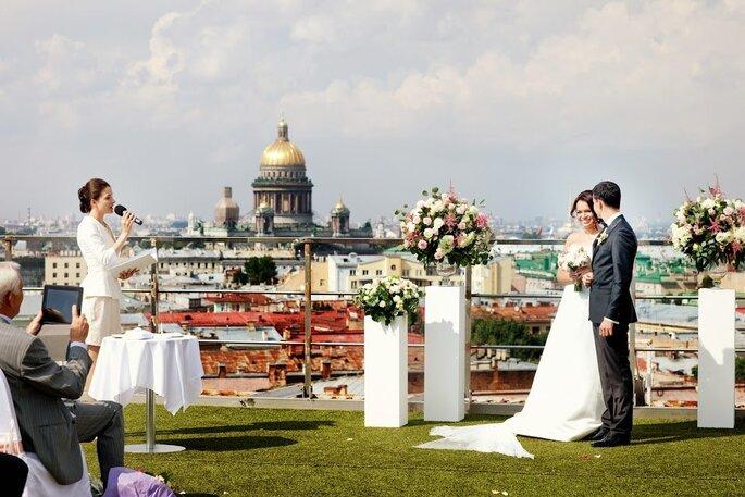 Ведущая Церемоний Регистрации Ольга Моретти