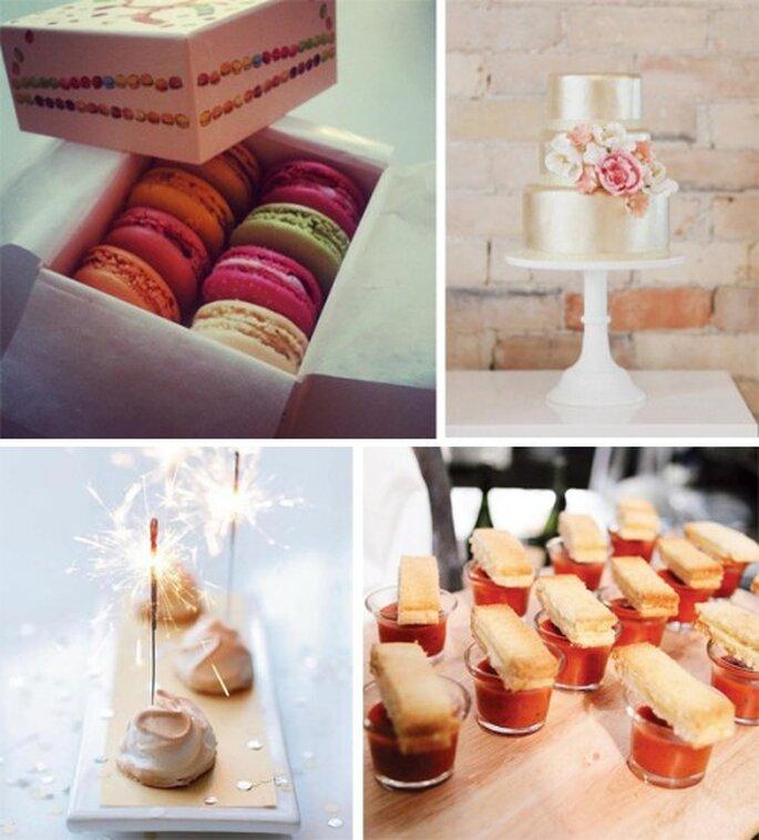 Postres y botanas para una boda en 2013 - Foto Brides Facebook