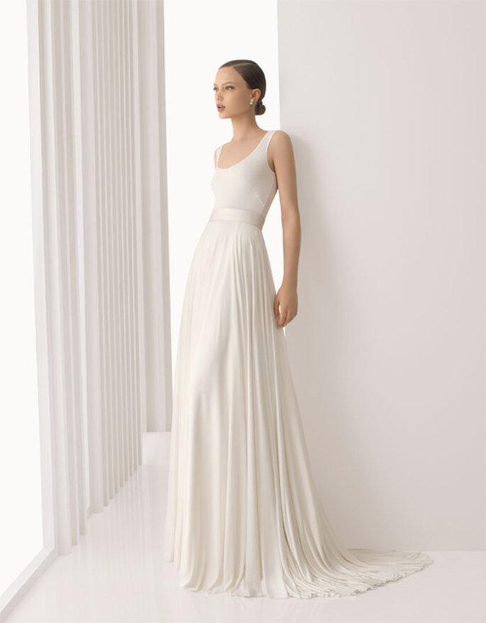 Robe de mariée minimaliste Rosa Clara 2012
